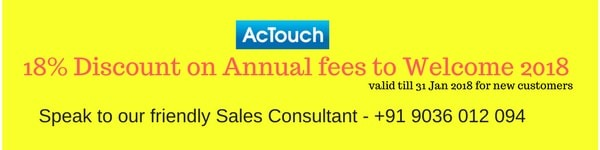 AcTouch Cloud ERP Software